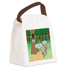 Forest Time Share Canvas Lunch Bag