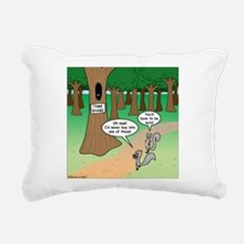 Forest Time Share Rectangular Canvas Pillow