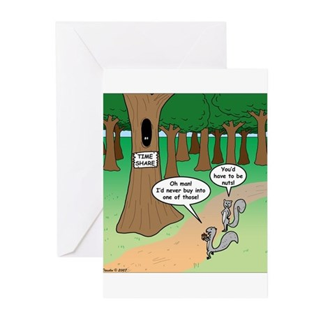 Forest Time Share Greeting Cards (Pk of 20)
