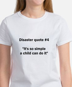 Disaster quote #4 - Tee