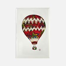 Hot Air Balloon In Silkscreen Zig Zag Magnets