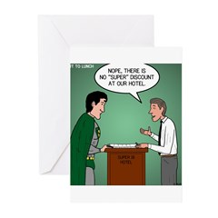 Super Hotel Greeting Cards (Pk of 20)