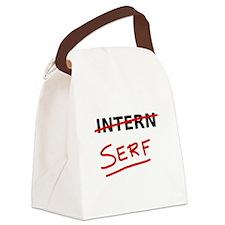 Intern (serf) Canvas Lunch Bag