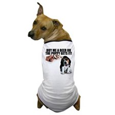 Buy Me A Beer... Dog T-Shirt