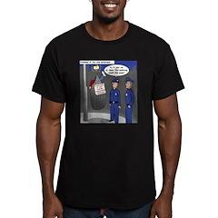 Spider Webbing Men's Fitted T-Shirt (dark)