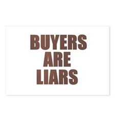 Buyers are Liars Postcards (Package of 8)