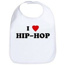 I Love HIP-HOP Bib