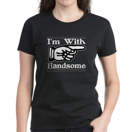 Handsome Left Women's Dark T-Shirt