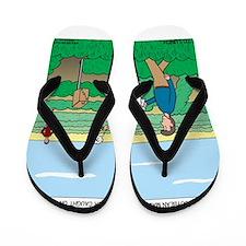 Soybean Maze Flip Flops