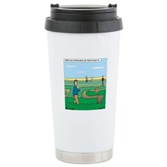 Soybean Maze Stainless Steel Travel Mug