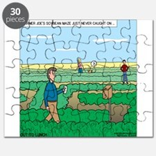 Soybean Maze Puzzle