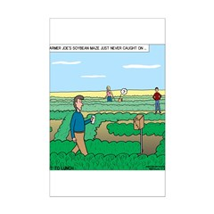Soybean Maze Posters