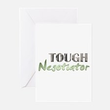 Tough Negotiator Greeting Cards (Pk of 10)