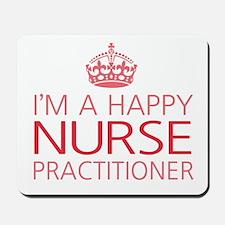 Happy Nurse Practitioner Mousepad