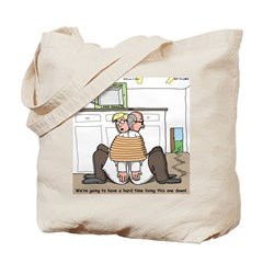 Giant Snail Escape Tote Bag
