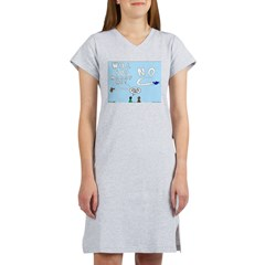 Sky Writing Proposal Women's Nightshirt