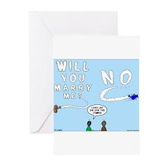 Sky Writing Proposal Greeting Cards (Pk of 20)