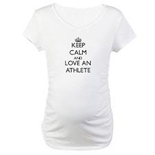 Keep Calm and Love an Athlete Shirt