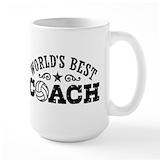 Volleyball coach Coffee Mugs