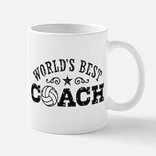 World's Best Volleyball Coach Mug