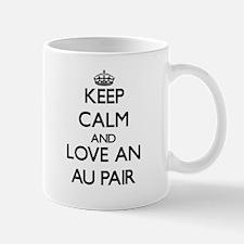 Keep Calm and Love an Au Pair Mugs