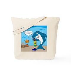 Shark Chum Tote Bag