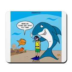 Shark Chum Mousepad