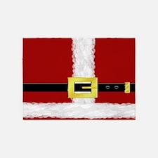 Santa Suit 5'x7'Area Rug