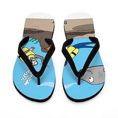 SCUBA Surprise Flip Flops