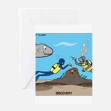 SCUBA Surprise Greeting Card