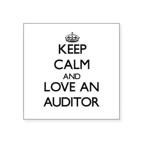 Keep Calm and Love an Auditor Sticker