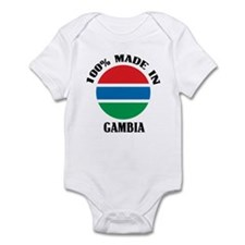 Made In Gambia Onesie