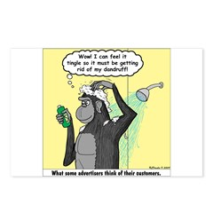 Gorilla Shampoo Commercial Postcards (Package of 8