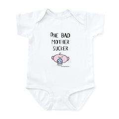 Rude Li'l Dude mother sucker Infant Bodysuit