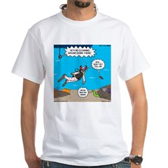 SCUBA Clowning Around White T-Shirt