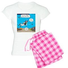 SCUBA Clowning Around Pajamas