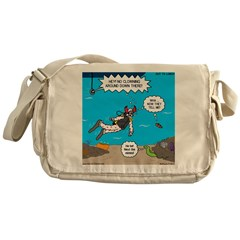 SCUBA Clowning Around Messenger Bag