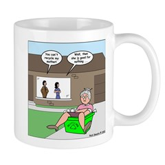 Mother-in-law Recycling Mug