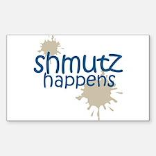 shmutz happens Rectangle Decal