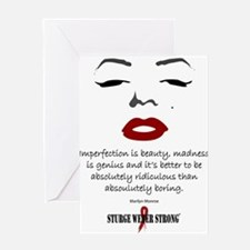 Monroe Beauty Greeting Cards