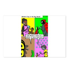 Bug Mothers Day Presents Postcards (Package of 8)