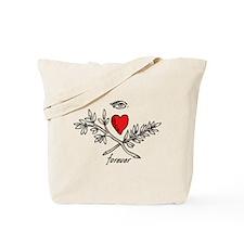 eye Love U forever Tote Bag