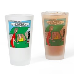 Mailman Syndrome Drinking Glass
