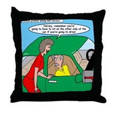 Mailman Syndrome Throw Pillow