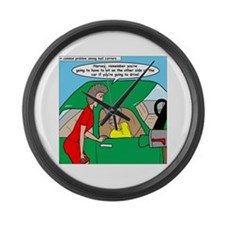 Mailman Syndrome Large Wall Clock