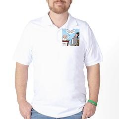 Golf Divot Sin T-Shirt