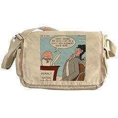 Golf Divot Sin Messenger Bag