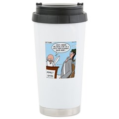 Golf Divot Sin Travel Mug