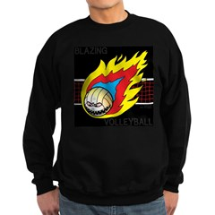 Blazing Volleyball Sweatshirt