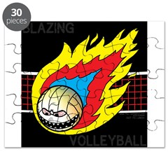 Blazing Volleyball Puzzle